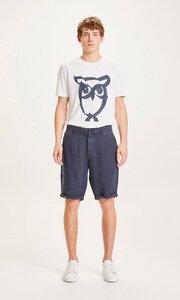 Leinen-Shorts - CHUCK loose linen shorts - KnowledgeCotton Apparel