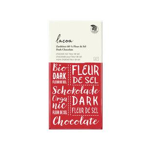 Bio Schokolade 60% Zartbitter Lacoa Fleur de Sel - Mitienda Shop