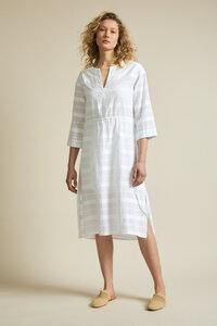 Jacquardkleid aus Bio-Baumwolle - LANIUS