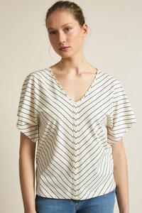 Streifenshirt GOTS aus Bio-Baumwolle - LANIUS