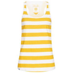 Yellow Stripes Tank Top Damen - Lexi&Bö