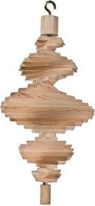 Holzspirale aus Fichtenholz Größe: ca. 40 cm lang - ReineNatur