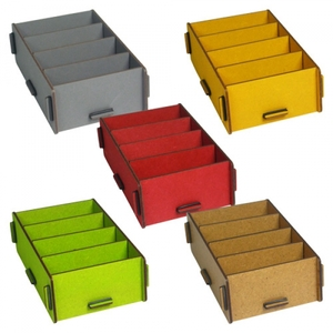 Visitenkartenhalter & Visitenkartenbox aus Holz ver. Farben - Werkhaus GmbH