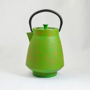 Teekanne aus Gußeisen Modell Denk 1,1 L dezentes Design tolle Farben - ja-unendlich