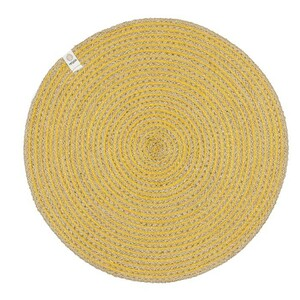 Runde Jute Tischmatte Spiraldesign Ø 32cm - reSpiin
