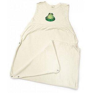 Lotties mitwachsender Sommer-Schlafsack Baby Bio Baumwolle 65-100 cm - Lotties