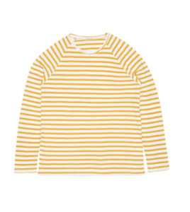 """Gestreiftes Langarm T-Shirt mit Raglanärmel aus Biobaumwolle """"Otto Breton Stripe"""" - Nudie Jeans"""