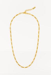 Halskette Therese in Gold / Silber | Feine Figaro Panzerkette - DEAR DARLING BERLIN