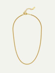 Goldene Halskette Chloe | Fuchsschwanzkette | 45cm - DEAR DARLING BERLIN
