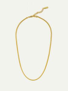 Halskette Céline Gold | Nachhaltige Zopfkette aus recyceltem Silber - DEAR DARLING BERLIN