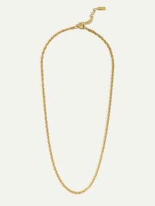 Lange Halskette Sofia in Gold | 50cm | Nachhaltige Doppelankerkette - DEAR DARLING BERLIN