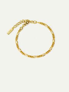 Armband Therese | Nachhaltige Figaro Armkette aus recyceltem Silber - DEAR DARLING BERLIN