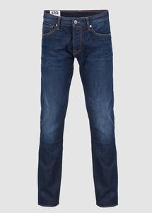 Charles Slim Mid Rise Dark Worn - Kings Of Indigo
