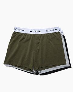 Multipack - WILHELM Premium Herren Boxershorts aus Tencel und Bio-Baumwolle - WILHELM