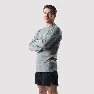 Herren Sport-Longsleeve aus Tencel und Merinowolle - runamics