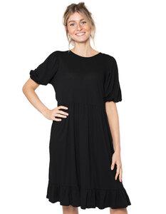 Luna Kleid Bio-Baumwolle und Leinen - CORA happywear