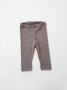 Baby Leggings Wolle/ Seide *walnuß* | GOTS zertifiziert | Engel Natur - Engel natur
