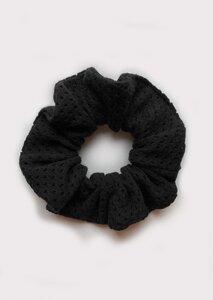 Scrunchie - Haargummi aus Mesh - börd shört