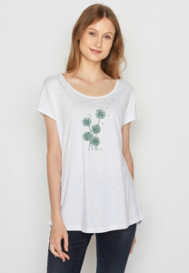 Damen Shirt 100% Biobaumwolle Plants Blowball Cool - GreenBomb