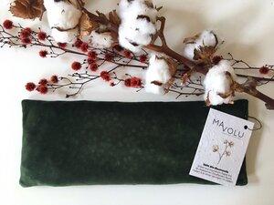 Kirschkernkissen VELVET aus Bio-Baumwoll-Samt - MAVOLU