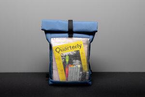 "Rucksack aus 90% recyceltem Material ""invisible shell"" - Faix-Design"