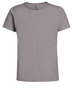 Herren T-Shirt Rundhalz kurzarm uni Biobaumwolle - ROCKBODY