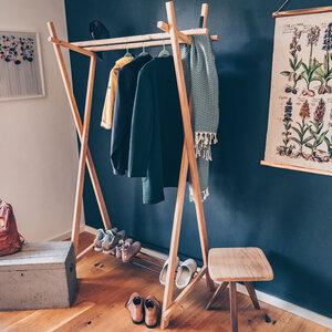 Minimalistische Garderobe RAIGEL - perfekt für den schmalen Flur - Herr Lars Möbelmanufaktur