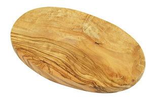 Frühstücksbrett OVAL aus Olivenholz - Olivenholz erleben