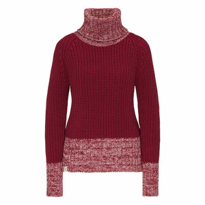 Damen Rollkragen Pullover reine Bio-Baumwolle - recolution