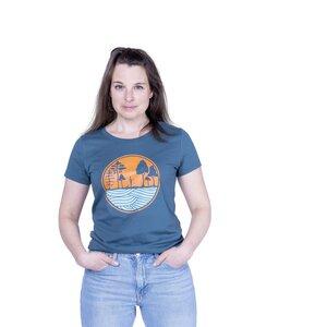 "Damen T- Shirt ""ELSUP Girls"" in stargazer - ecolodge fashion"
