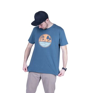 "Herren T- Shirt ""ELSUP Men"" in stargazer - ecolodge fashion"
