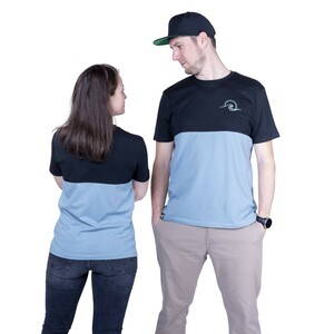 "Unisex T- Shirt ""ELTwoSides"" in 2 Farben - ecolodge fashion"