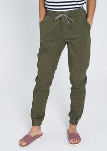 Damen Jogginghose aus weichem Baumwoll-Popeline   Pants CALATHEA - recolution