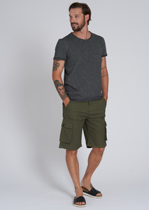 Kurze Herren Shorts aus Baumwolle (Bio) | Cargo Shorts - recolution