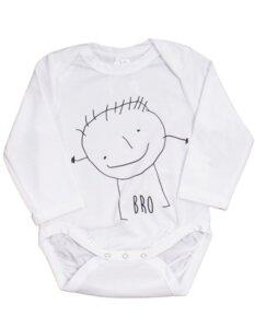 "Baby Body aus Eukalyptus Faser ""Happy"" - CORA happywear"