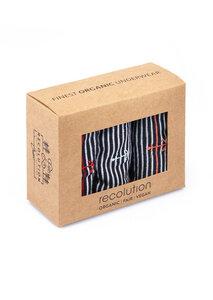 Gemustertes Socken Set aus Bio Baumwolle   Socken Set #BIKES   Socken Set #UNI   Socken Set #MARITIM   Socken Set #STRIPES - recolution
