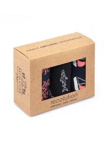 Gemustertes Socken Set aus Bio Baumwolle | Socken Set #BIKES | Socken Set #UNI | Socken Set #MARITIM | Socken Set #STRIPES - recolution
