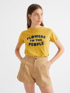 Camel Hemp Narciso Shorts - thinking mu