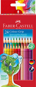 Colour Grip Buntstift, 24er Kartonetui - Faber-Castell