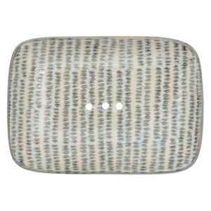Seifenschale Retro & Nordic aus Steinzeug 14 cm - TRANQUILLO