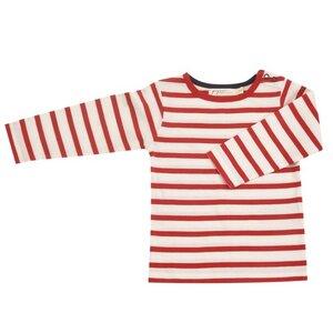 "Kinder-Langarmshirt ""Longsleeve Breton stripe"" - Pigeon by Organics for Kids"