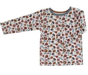 Kinder-Langarmshirt mit Aufdruck - Pigeon by Organics for Kids