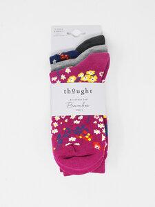 Socken Rozalia Floral 3er Pack - Thought