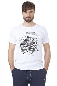 Männer Shirt One Love weiß - recolution