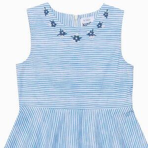 Kite Mädchen Skater Kleid Streifen Stickerei - Kite Clothing