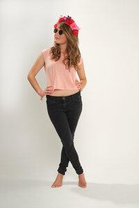 T-Shirt *sea pink* - börd shört