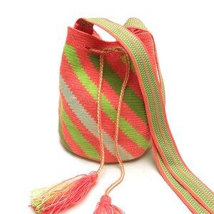 Beuteltasche Mochila Wayuu - Colombiart