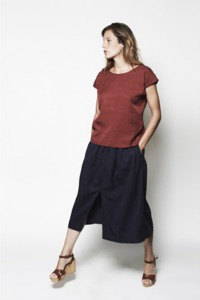 Shirtbluse Batsberg - L'Herbe Rouge