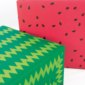 Geschenkpapier Wassermelone - Bow & Hummingbird