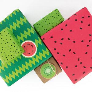 Geschenkverpackungs-Set Freche Früchte - Bow & Hummingbird
